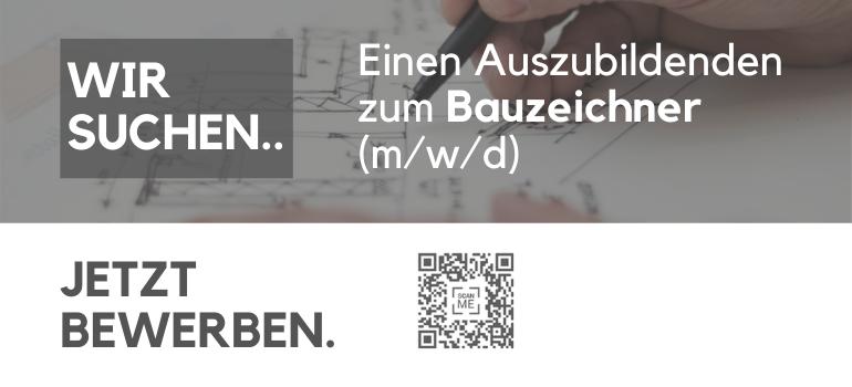 Ausbildung zum Bauzeichner (m/w/d)